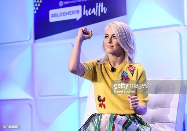 Julianne Hough attends the #BlogHer18 Health Conference at Tribeca 360 on January 31 2018 in New York City