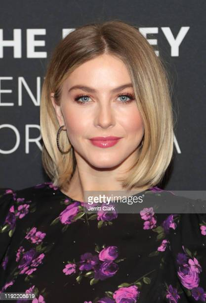 Julianne Hough attends The Paley Center For Media Presents An Evening With Derek Hough And Julianne Hough at The Paley Center for Media on December...