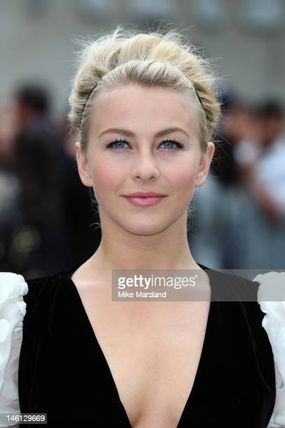 Julianne Hough attends the premiere for Rock Of Ages at Odeon Leicester Square on June 10 2012 in London England