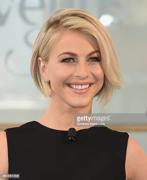 Julianne Hough attends the 'Swirl' Dance Off Hosted By Julianne Hough at Alvin Ailey American Dance Theater on January 15 2015 in New York City