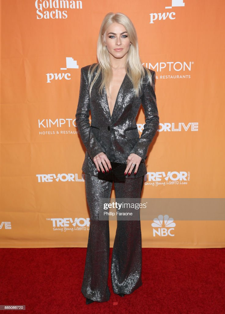 Julianne Hough attends The Trevor Project's 2017 TrevorLIVE LA Gala at The Beverly Hilton Hotel on December 3, 2017 in Beverly Hills, California.