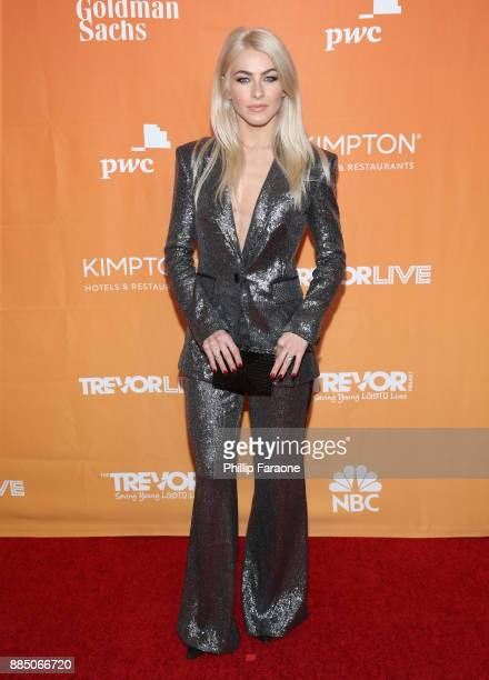 Julianne Hough attends The Trevor Project's 2017 TrevorLIVE LA Gala at The Beverly Hilton Hotel on December 3 2017 in Beverly Hills California