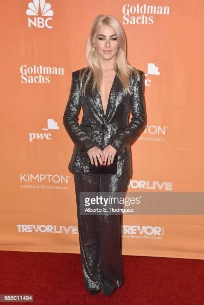 Julianne Hough attends The Trevor Project's 2017 TrevorLIVE LA on December 3 2017 in Beverly Hills California