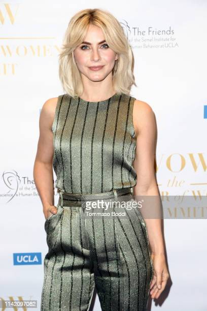 Julianne Hough attends the UCLA #WOW The Wonder Of Women Summit at UCLA Meyer and Renee Luskin Conference Center on April 11 2019 in Los Angeles...