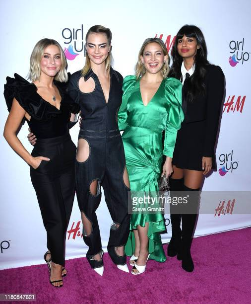 Julianne Hough Cara Delevingne Kate Hudson and Jameela Jamil arrives at the 2nd Annual Girl Up #GirlHero Awards at the Beverly Wilshire Four Seasons...