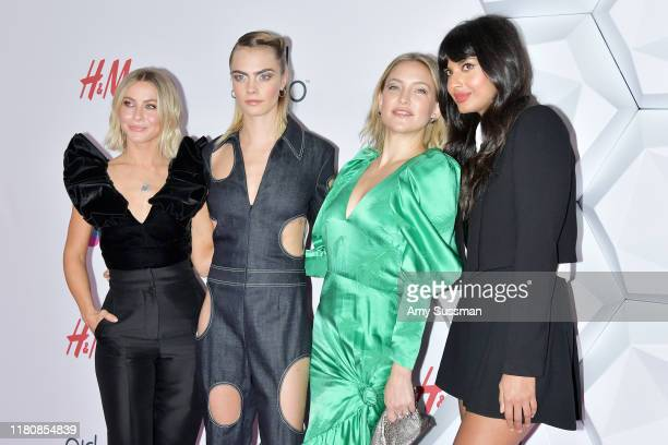 Julianne Hough Cara Delevingne Kate Hudson and Jameela Jamil attend the 2nd Annual Girl Up #GirlHero Awards at the Beverly Wilshire Four Seasons...