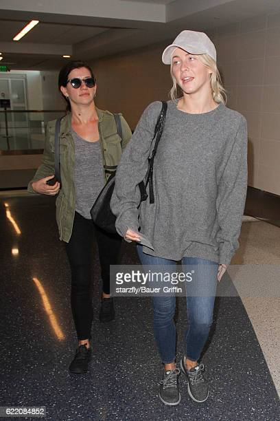 Julianne Hough is seen at LAX on November 09 2016 in Los Angeles California