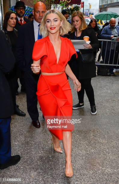 Julianne Hough is seen in Midtown on May 13 2019 in New York City