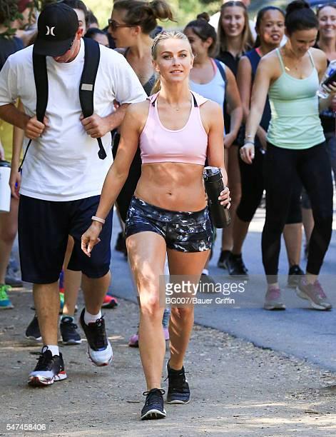 Julianne Hough is seen on July 14 2016 in Los Angeles California