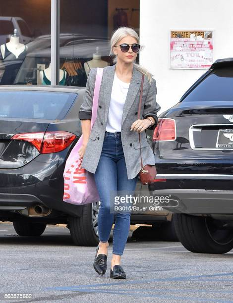 Julianne Hough is seen on October 20 2017 in Los Angeles California