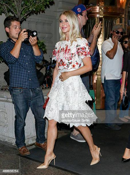 Julianne Hough is seen on September 16 2015 in New York City