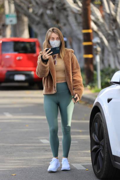 CA: Celebrity Sightings In Los Angeles - January 19, 2021