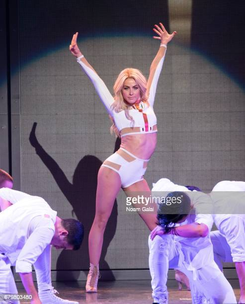 Julianne Hough performs at the 'Julianne and Derek Hough MOVE Beyond Live On Tour' at Radio City Music Hall on May 6 2017 in New York City