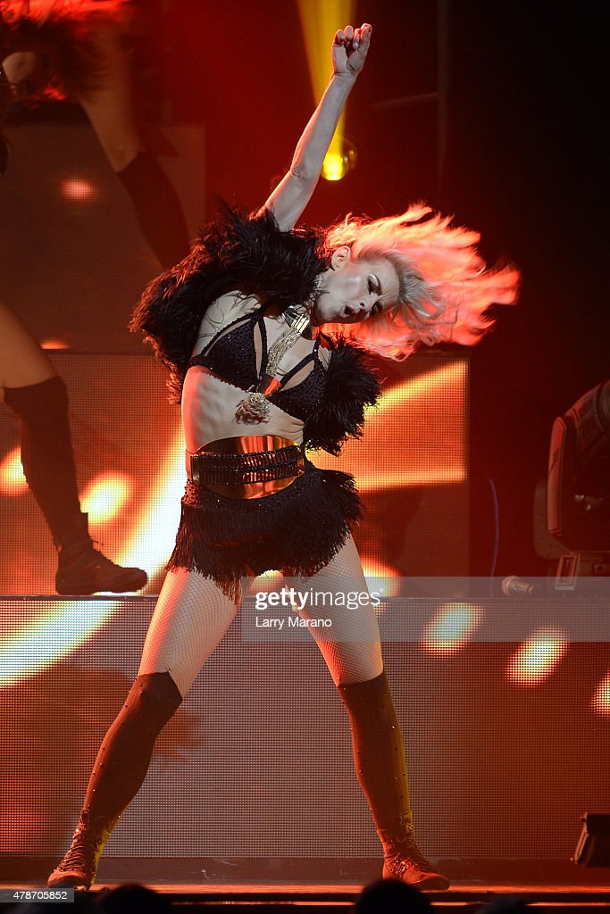 Julianne Hough performs during Move Live on Tour at Hard Rock Live held at the Seminole Hard Rock Hotel & Casino on June 26, 2015 in Hollywood, Florida.