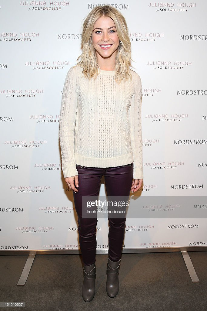 4cd89ab40c6 Julianne Hough Presents The Julianne Hough For Sole Society Collection At  Nordstrom   News Photo