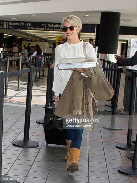 Julianne Hough seen at LAX airport on February 09 2014 in Los Angeles California