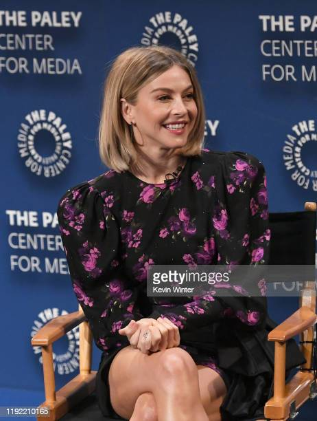 Julianne Hough speaks onstage during The Paley Center For Media Presents: An Evening with Derek Hough and Julianne Hough at The Paley Center for...