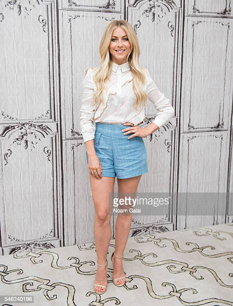 Julianne Hough visits AOL Build to discuss 'Running Wild With Bear Grylls' at AOL Studios In New York on July 11 2016 in New York City