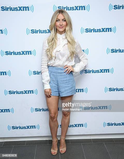 Julianne Hough visits at SiriusXM Studio on July 11 2016 in New York City