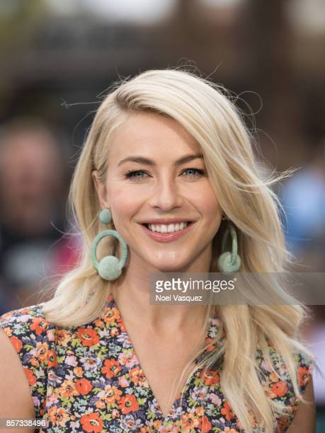 Julianne Hough visits Extra at Universal Studios Hollywood on October 3 2017 in Universal City California