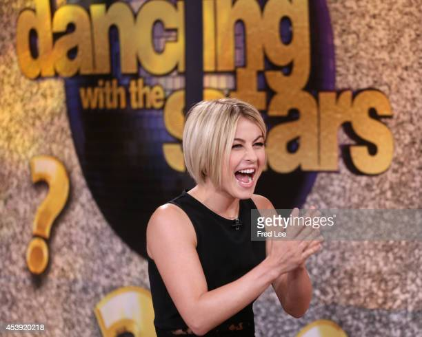 AMERICA Julianne Hough was announced as a fourth judge on this season of 'Dancing with the Stars' on 'Good Morning America' 8/21/14 airing on the ABC...
