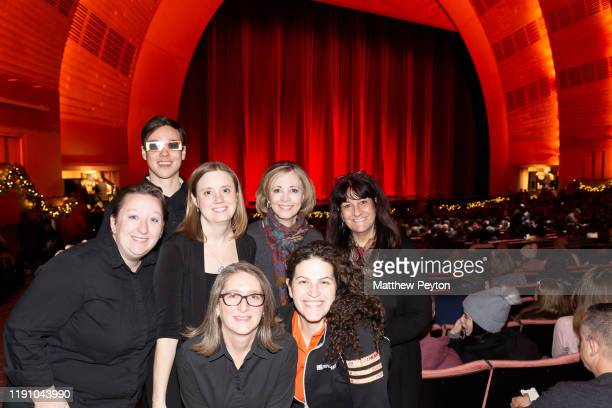 Julianne Merrill Isaak Olson Christine Riley Susan Lee Dale Semler Anna Raful Melissa Caolo attend Camp Broadway at Radio City Music Hall on November...
