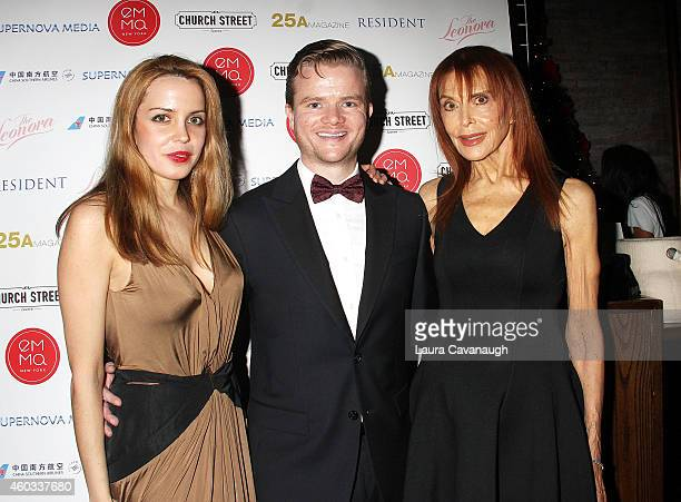 Julianne Michelle Peter Halpin and Tina Louise attend the 2014 Memorial Sloan Kettering Cancer Center Benefit at Church Street Tavern on December 11...