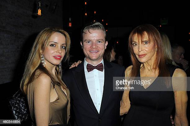 Julianne Michelle Peter Halpin and Tina Louise attends 2014 Memorial Sloan Kettering Cancer Center Benefit at Church Street Tavern on December 11...