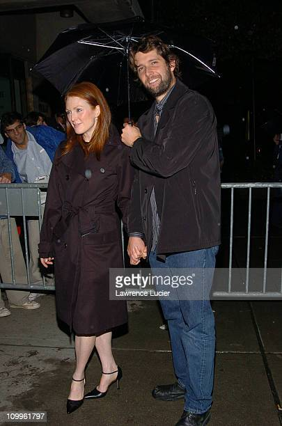 Julianne Moore and Bart Freundlich during Palindromes New York Screening at Alice Tully Hall in New York City, New York, United States.