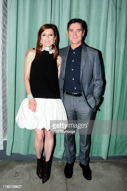 Julianne Moore and Billy Crudup attend Chopard And The Cinema Society Host The After Party For Sony Pictures Classics' After The Wedding at The Crown...