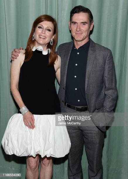 """Julianne Moore and Billy Crudup attend the """"After The Wedding"""" New York Screening After Party at Hotel 50 Bowery Rooftop on August 06, 2019 in New..."""
