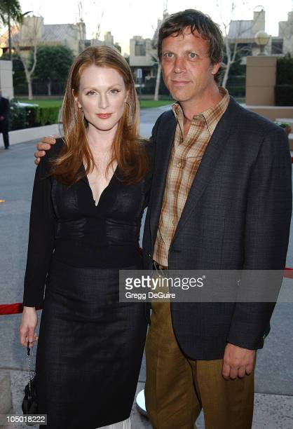Julianne Moore and Todd Haynes during The 9th Annual BAFTA/LA Tea Party at Park Hyatt Hotel in Los Angeles, California, United States.