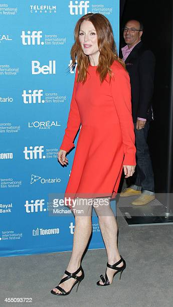 Julianne Moore arrives at the photo call of Map To The Stars held during 2014 Toronto International Film Festival - Day 6 held on September 9, 2014...
