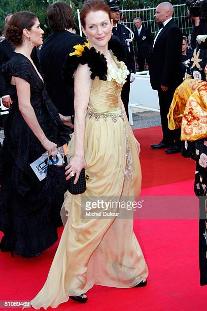 Julianne Moore arrives at the premiere of ''Blindness'' at the Palais des Festivals during the 61st International Cannes Film Festival on May 14,...