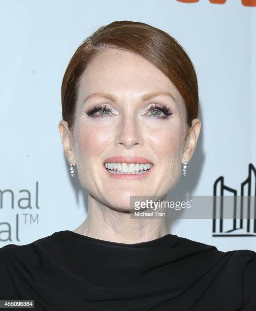 Julianne Moore arrives at the premiere of Maps To The Stars held during the 2014 Toronto International Film Festival - Day 6 held on September 9,...