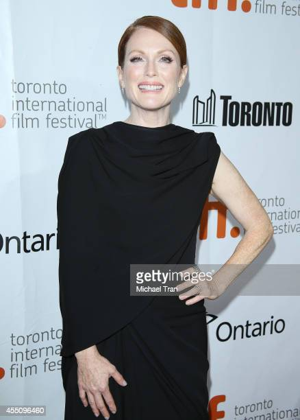 Julianne Moore arrives at the premiere of Maps To The Stars held during the 2014 Toronto International Film Festival Day 6 held on September 9 2014...