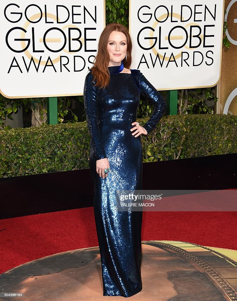 US-ENTERTAINMENT-GOLDEN-GLOBE-ARRIVALS : Foto jornalística
