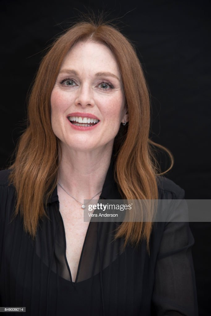 Julianne Moore at the 'Kingsman: The Golden Circle' Press Conference at the Ham Yard Hotel on September 18, 2017 in London, England.