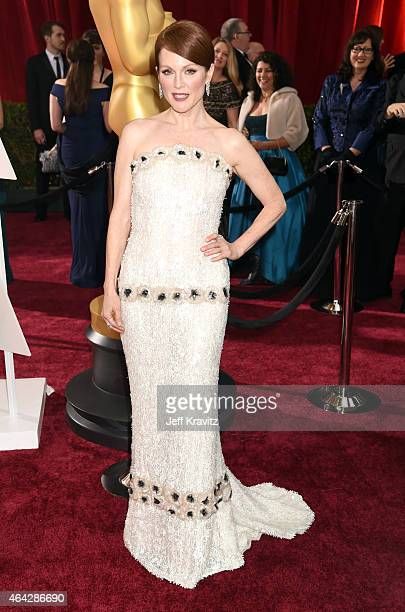 Julianne Moore attend the 87th Annual Academy Awards at Hollywood Highland Center on February 22 2015 in Hollywood California