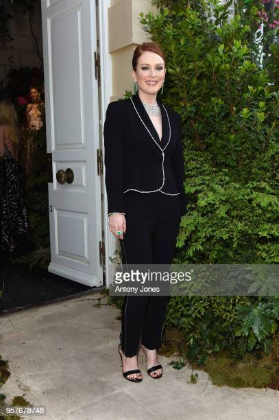Julianne Moore attends Chopard Secret Night during the 71st annual Cannes Film Festival at Chateau de la Croix des Gardes on May 11 2018 in Cannes...