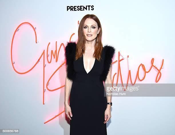 Julianne Moore attends Ferragamo Presents Gancio Studios Celebrating 100 Years In Hollywood at Gancio Studios on December 8 2015 in New York City