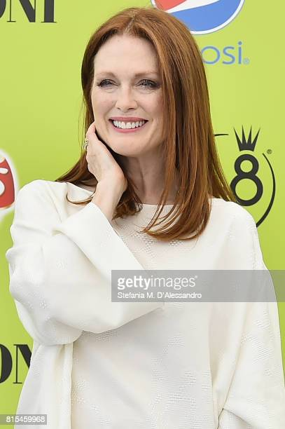 Julianne Moore attends Giffoni Film Festival 2017 Day 3 Photocall on July 16 2017 in Giffoni Valle Piana Italy