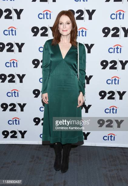 """Julianne Moore attends """"Gloria Bell"""" Screening & Conversation at 92nd Street Y on March 05, 2019 in New York City."""