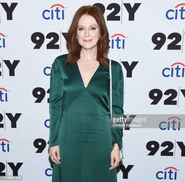 Julianne Moore attends 'Gloria Bell' Screening Conversation at 92nd Street Y on March 05 2019 in New York City