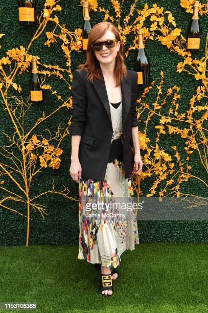 Julianne Moore attends the 12th Annual Veuve Clicquot Polo Classic at Liberty State Park on June 01 2019 in Jersey City New Jersey