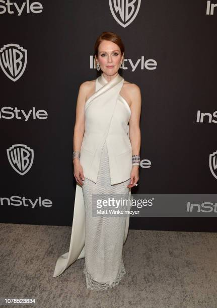 Julianne Moore attends the 2019 InStyle and Warner Bros 76th Annual Golden Globe Awards PostParty at The Beverly Hilton Hotel on January 6 2019 in...