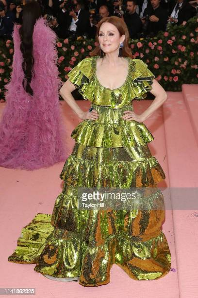 Julianne Moore attends the 2019 Met Gala celebrating Camp Notes on Fashion at The Metropolitan Museum of Art on May 6 2019 in New York City