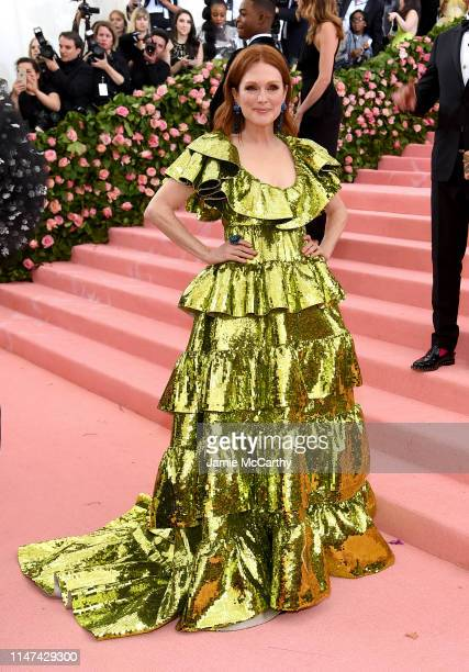 Julianne Moore attends The 2019 Met Gala Celebrating Camp Notes on Fashion at Metropolitan Museum of Art on May 06 2019 in New York City