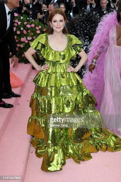 Julianne Moore attends The 2019 Met Gala Celebrating Camp Notes On Fashion at The Metropolitan Museum of Art on May 06 2019 in New York City
