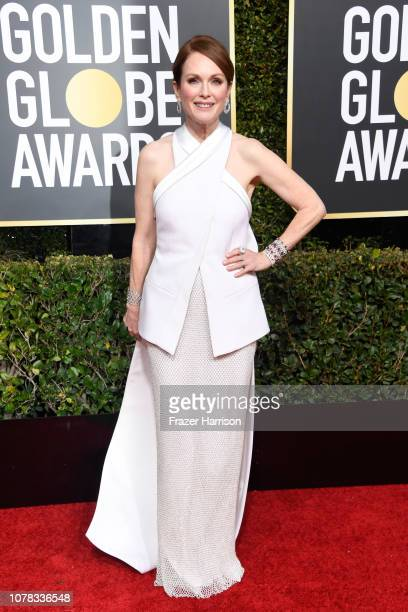 Julianne Moore attends the 76th Annual Golden Globe Awards at The Beverly Hilton Hotel on January 6 2019 in Beverly Hills California
